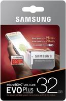 Карта памяти Samsung MicroSDHC UHS-I EVO Plus 32Gb class10 FHD