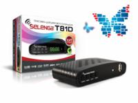 Цифровой телевизионный приемник DVB-T2 Selenga T81D