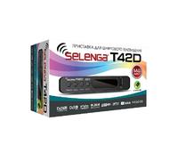 Цифровой телевизионный приемник DVB-T2 Selenga T42D