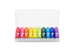 Батарейки Xiaomi Zi7 AAA Rainbow Battery (набор 10шт.)