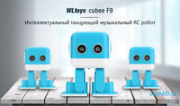 """Радиоуправляемая Bluetooth колонка """"Танцуюший робот"""" Robo Cubee F9"""