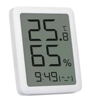 Метеостанция с часами Xiaomi Miaomiaoce LCD (MHO-C601) термометр, гигрометр