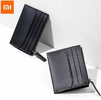 Кошелек для карточек и мелочи Xiaomi 90 Points Simple Leather Purse