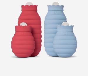 Силиконовая грелка Xiaomi Jordan Judy Silicone Hot Water Bottle, голубая