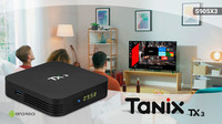 Android Smart TV Box Tanix TX3-H 4/64 Гб