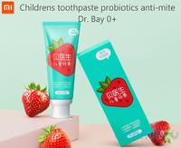 Детская натуральная зубная паста Xiaomi Dr. Bay 0+ Toothpaste probiotics anti-mite childrens  (3-12лет)
