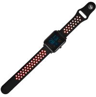 Силиконовый ремешок на фитнес часы Xiaomi Huami Amazfit bip