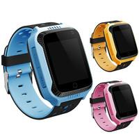 Детские смарт часы Smart Baby Watch G100 (GW200S) с цветным сенсорным экраном