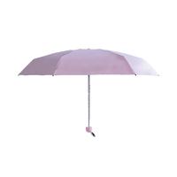 Компактный складной женский зонт Xiaomi Empty Valley Umbrella (розовый)